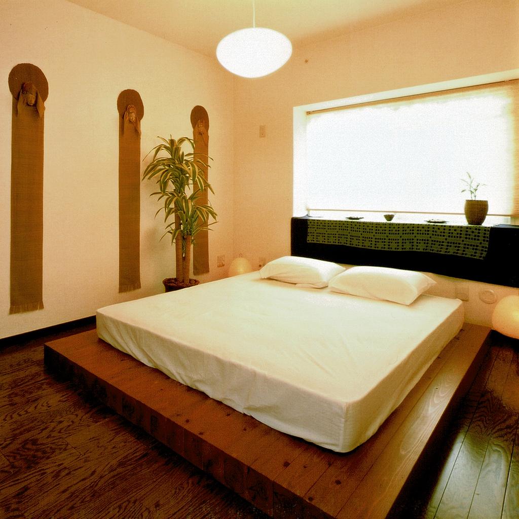 千葉ニュータウンプロムナード桜台6番街・寝室
